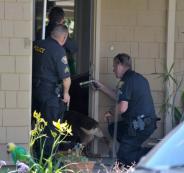 سرقة منزل والشرطة