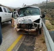 حادث سير في سلفيت