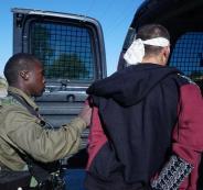 اعتقال فلسطينيين في السجون الاسرائيلية