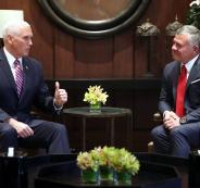 نائب ترامب: نحن مختلفان مع الأردن بشأن قرارنا بالقدس عاصمة لإسرائيل
