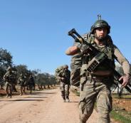 الحرب بين تركيا وروسيا في ادلب