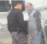 الشرطي الذي ضرب مواطن مقدسي