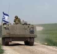 الجيش الاسرائيلي في الاغوار