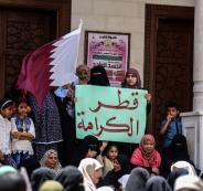 قطر والدعم المالي لفلسطين