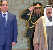 امير الكويت والسيسي