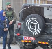 اعتقال فتاة فلسطينية في الخليل