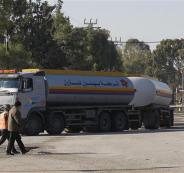 ادخال محروقات لغزة