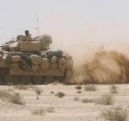 مدرعات امريكية والسلاح الاسرائيلي