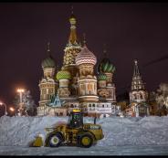 لأول مرة هذا الموسم.. الثلوج تتساقط على موسكو
