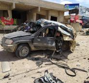 اسرائيل تقصف سيارة لحزب الله
