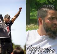 فلسطيني واحتجاجات اميركا