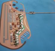اقامة جزر صناعية قبالة سواحل قطاع غزة