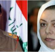 رغد صدام حسين والرئيس المني السابق علي عبد الله صالح
