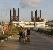 توقف محطة كهرباء غزة