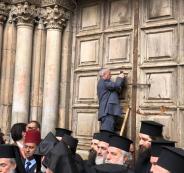 اغلاق كنيسة القيامة