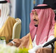 العاهل السعودي ومشاريع في السعودية