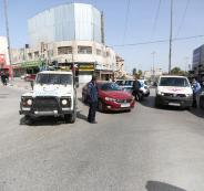 الشرطة الفلسطينية تضبط مركبات