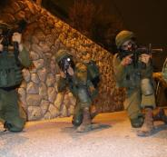 الجيش الاسرائيلي والضفة الغربية