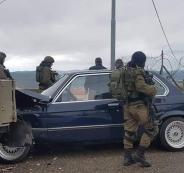 اصابات جراء صدم مركبة عسكرية اسرائيلية