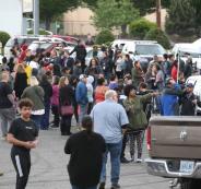 هجوم مسلح على مدرسة امريكية