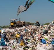 النفايات الاسرائيلية في الضفة الغربية