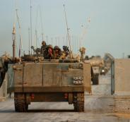 قوات اسرائيلية قرب غزة