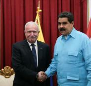 الرئيس الفنزويلي والمالكي