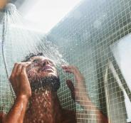 الاستحمام خلال الشتاء