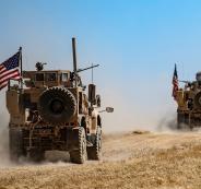 القوات  الامريكية والتركية  في سوريا
