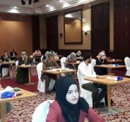 الوفد الكويتي للتعاقد مع معلمين فلسطينيين من قطاع غزة