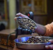 استهلاك غزة من القهوة