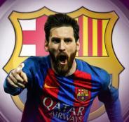 ميسي يمدد عقده مع برشلونة