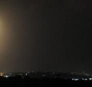 اطلاق صواريخ من سيناء باتجاه اسرائيل