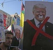 قطع المساعدات الامريكية للفلسطينيين