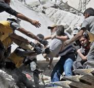 مقتل سورييين في قصف استهدف ادلب