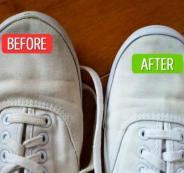 طرق لازالة الاوساخ عن الملابس والاحذية