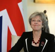 رئيسة وزراء بريطانيا واسرائيل