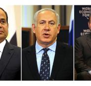الاردن ومصر واسرائيل