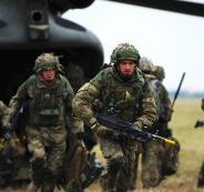 الجيش البريطاني وروسيا