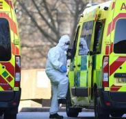 وفيات بكورونا في بريطانيا