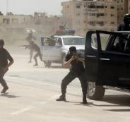 مسلحين محاصرين في الامم المتحدة بغزة