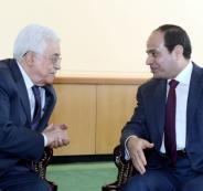 مباحثات بين الرئيس عباس والسيسي