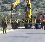الاحتلال يعيد فتح البوابة الحديدية في دوار جنوب الخليل المغلقة منذ شهرين