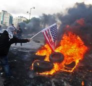 مظاهرات في الضفة الغربية وغزة ضد قرار ترامب بشأن القدس