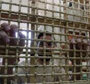 الاضراب في السجون الاسرائيلية
