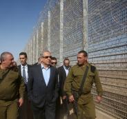 الجدران المحيطة باسرائيل