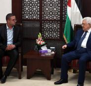 الرئيس يشيد بالصورة التي عكسها الشاب عبود من خلال صلواته مع المسلمين في القدس