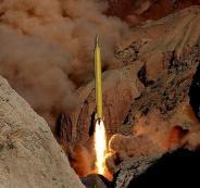 صواريخ ايرانية واسرائيل