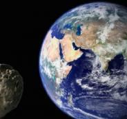 تصادم الارض مع كويكب