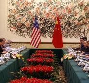 المحادثات التجارية بين اميركا والصين